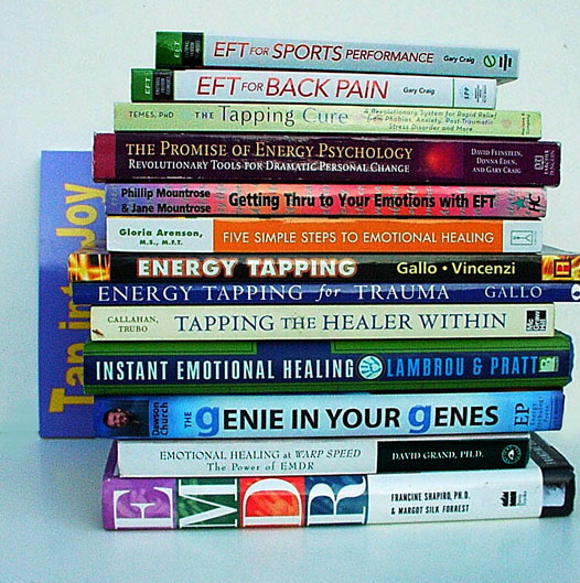 Books about EFT, Thought Field Therapy, Energy Psychology